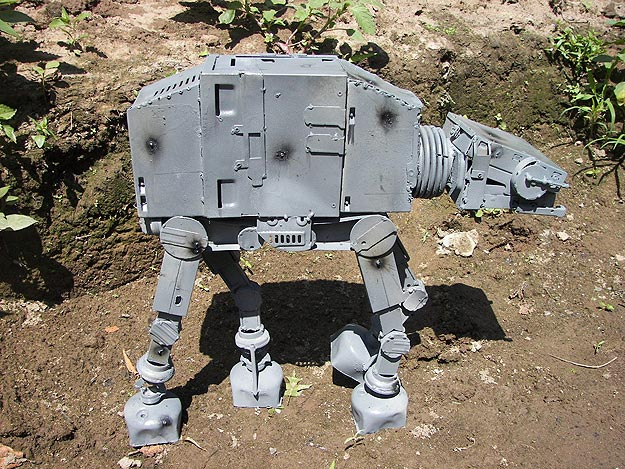 Star Wars: An Imperial Walker (AT-AT) Inspired Design