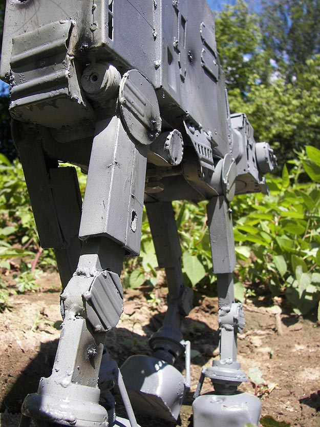 Star Wars Imperial Walker Design