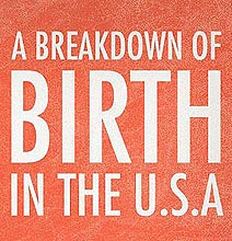 I Love Stats: Birth Rate Statistics For The USA [Infographic]