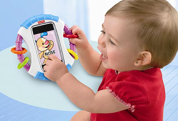 Transform iPhone Into Baby Toy