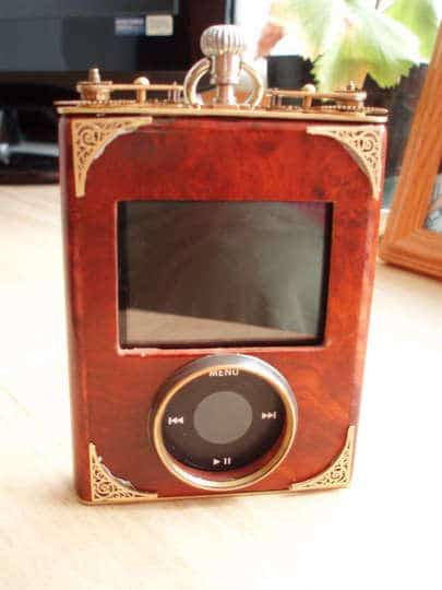 Front View iPod Steampunk Case