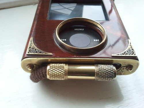 Brass Victorian iPod Steampunk Customization