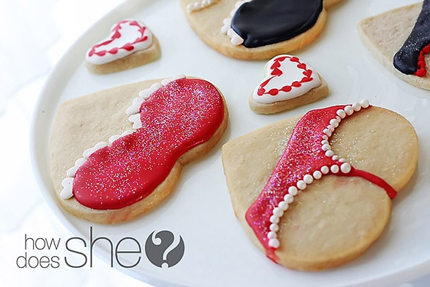 How To: Make Flirty & Naughty Valentine's Day Cookies