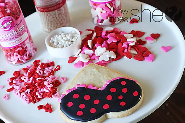 Valentine's Day Flirty Cookies