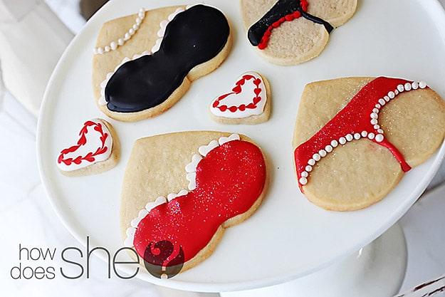 Valentine's Day Flirty Cookies