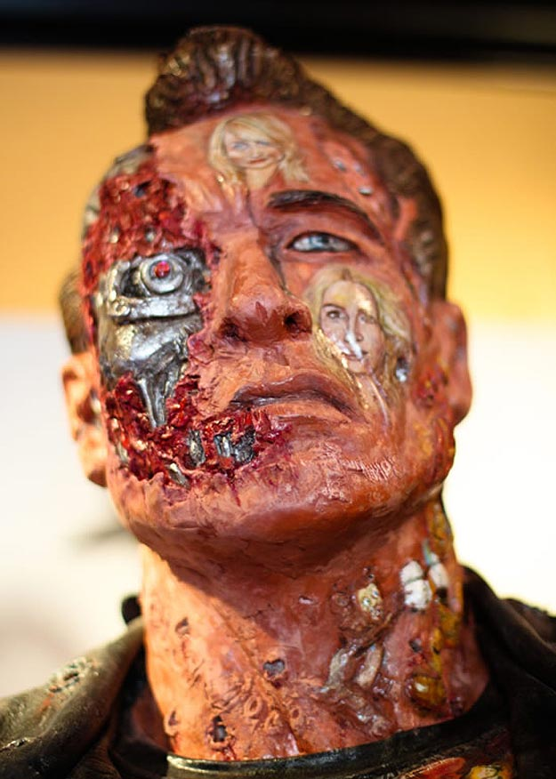 Terminator Movie History Statue