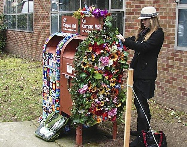 University of Washington Mailbox Art