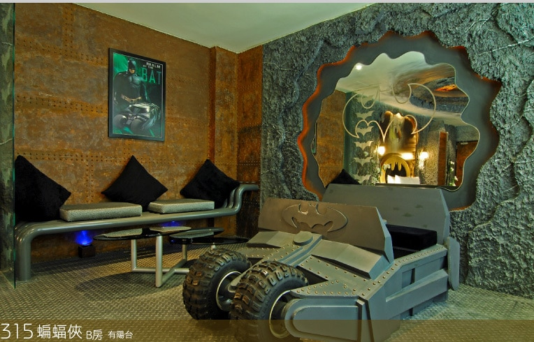 Aspire To Be A Superhero: Stay In The Batman Hotel Room