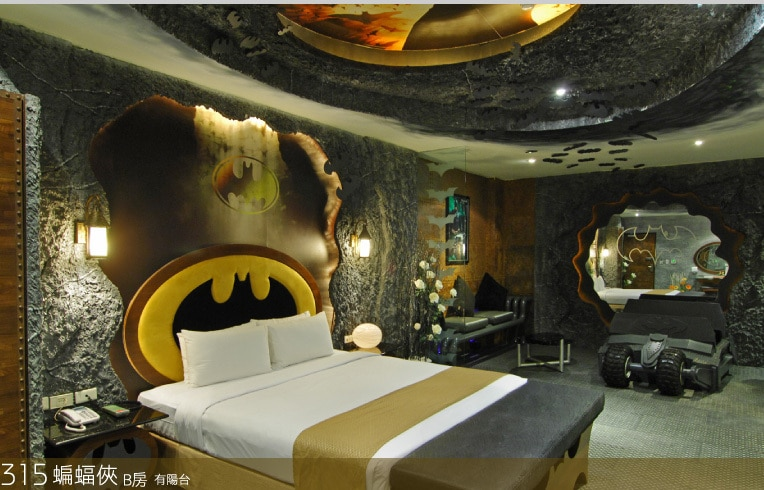 Love Motel Batman Room Hotel