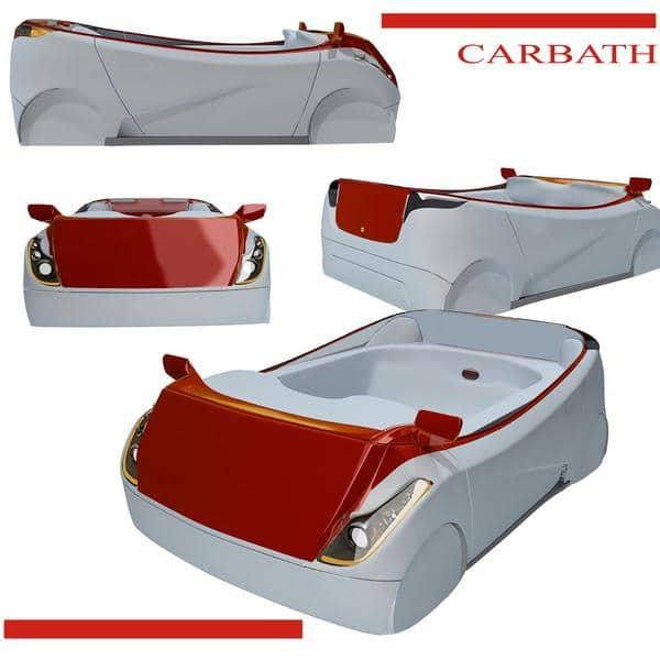 Car Bathtub Industrial Concept Design