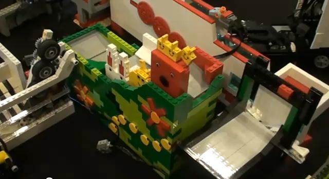Extreme Ball Contraption Lego Build