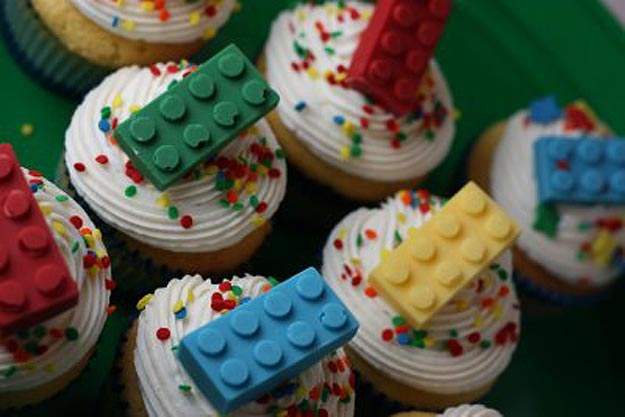 Chocolate Lego Bricks for Geeks