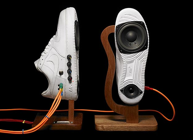 How To: Turn Your Sneakers Into Stylin Speakers