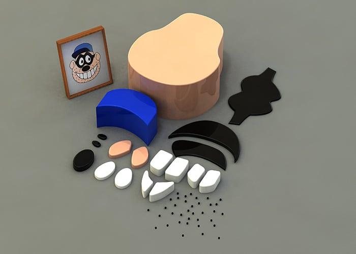 Parts Of Scrooge Enemy Build