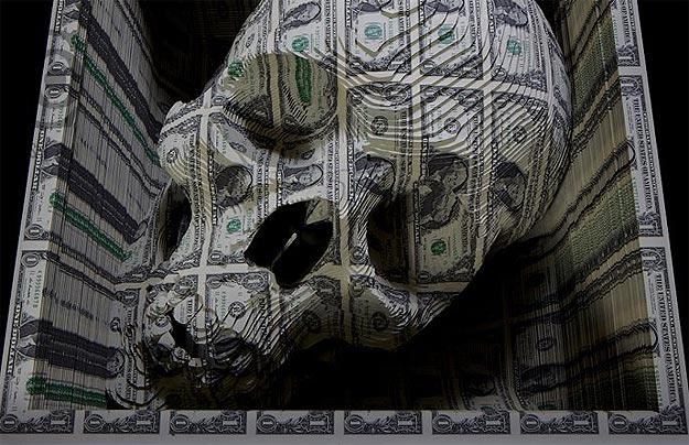 Scott Campbell's Currency Skull
