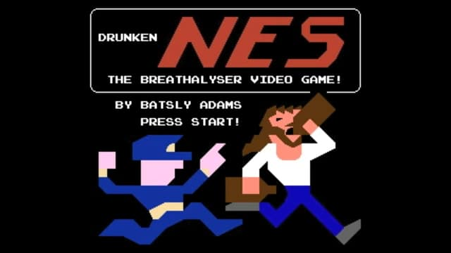 NES Breathalyzer Game: The Ultimate Party Game
