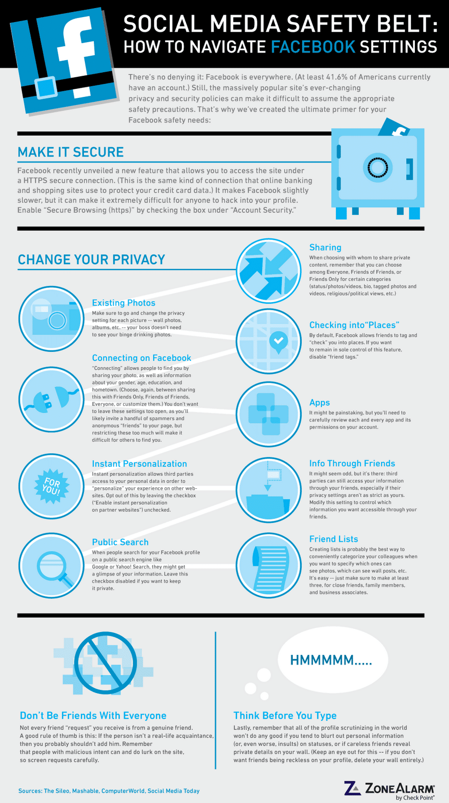 Facebook Security: Simple Guide To Staying Safe [Infographic]