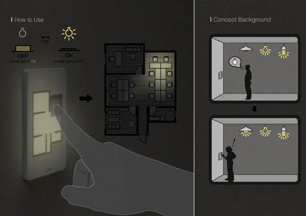 Floor Plan Light Switch Let's You Play With People's Heads