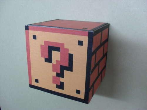 Functional Super Mario Coin Block
