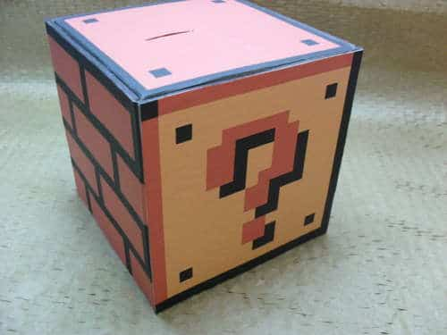 Functional Super Mario Coin Block