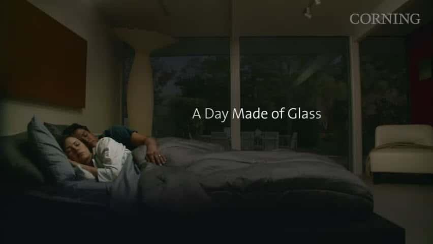 Future Touchscreen Glass Infographic Design