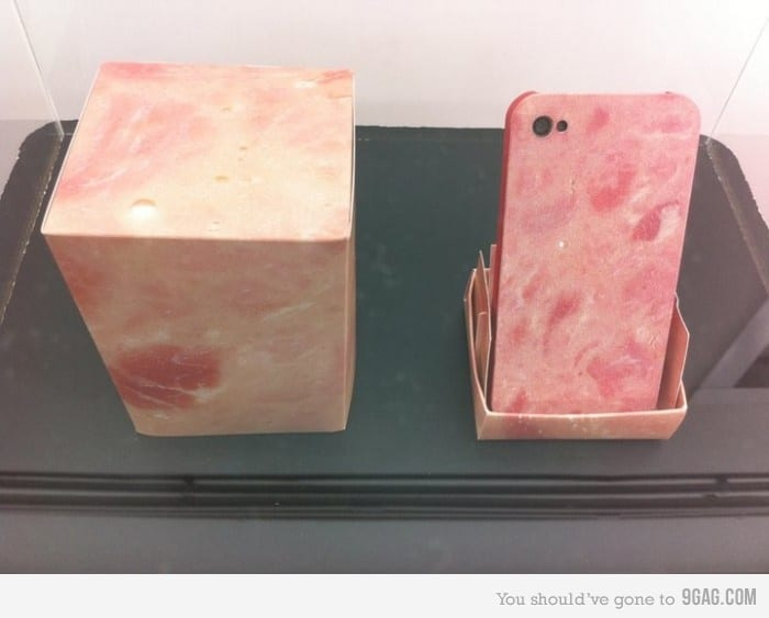 Ham iPhone Skin Cover Design