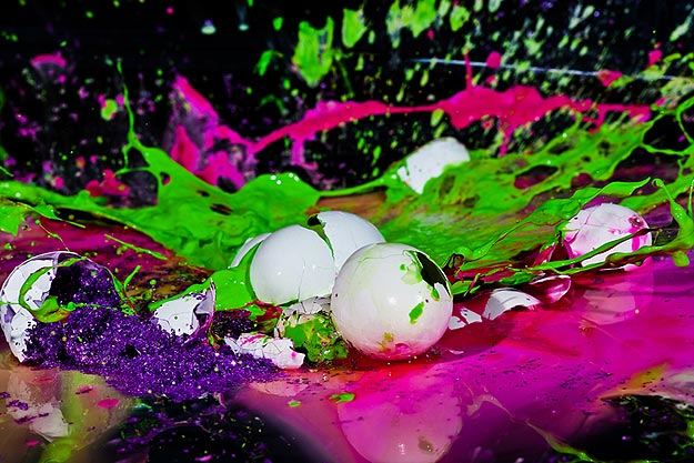 Colorful Easter Egg Photography