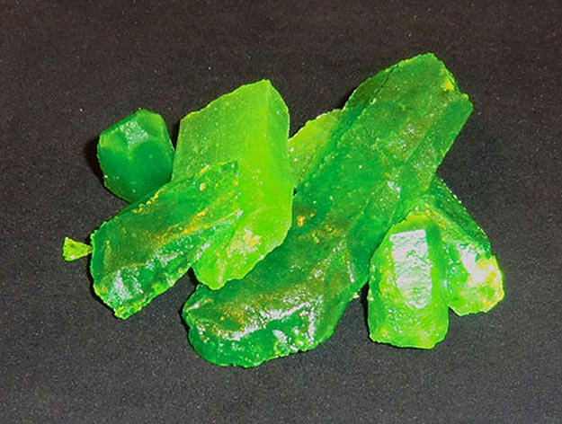 Make Your Own Kryptonite Candy