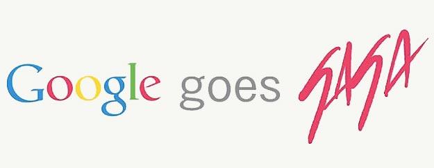 Geek Lady Gaga Visits Google And Twitter