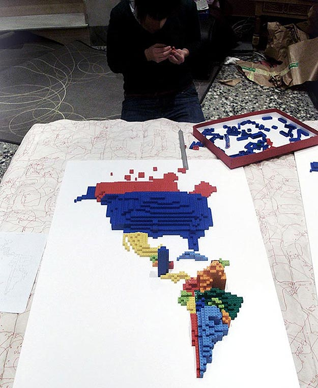 Making Maps With Lego