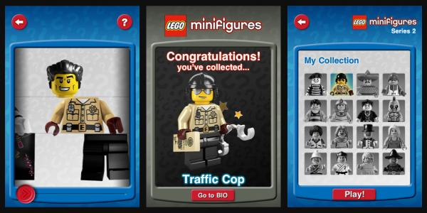 Lego iPhone App Minifigures Collector