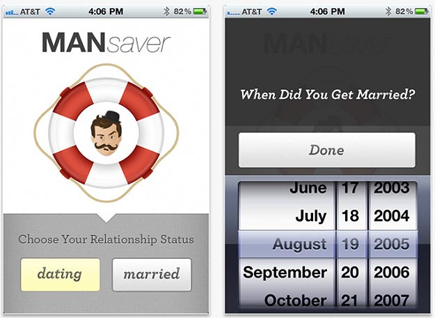 MANsaver: The iPhone App That Makes Marriage Easy