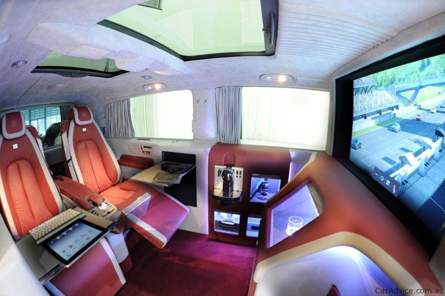 Mercedes Brabus iBusiness technology Van