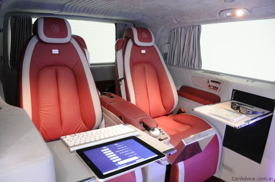 Mercedes Brabus iBusiness technology Van