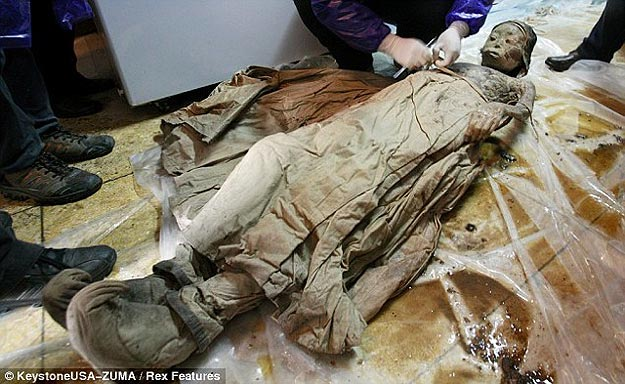 Well Preserved Mummy In China