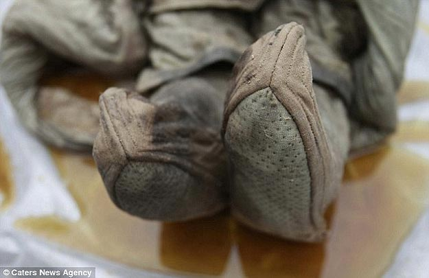 Well Preserved Mummy Found
