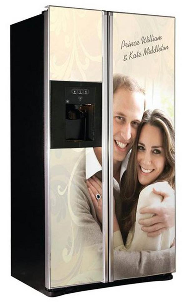 WTF: The William & Kate Commemorative Refrigerator