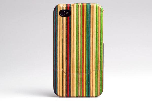 Recycled Skateboard iPhone Case Design
