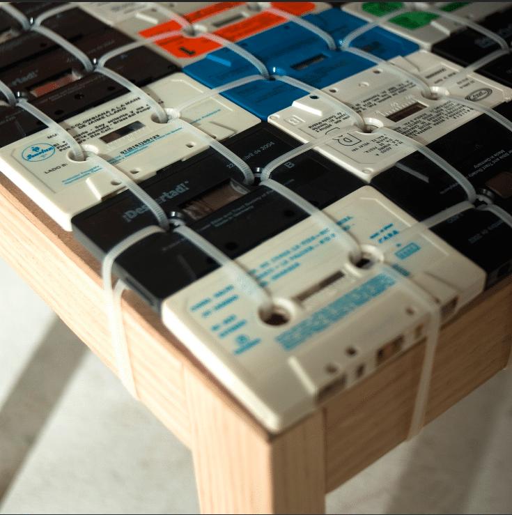 Retro Cassette Chair Design Concept