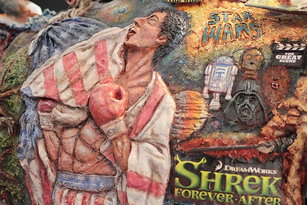 Terminator Movie History Sculpture