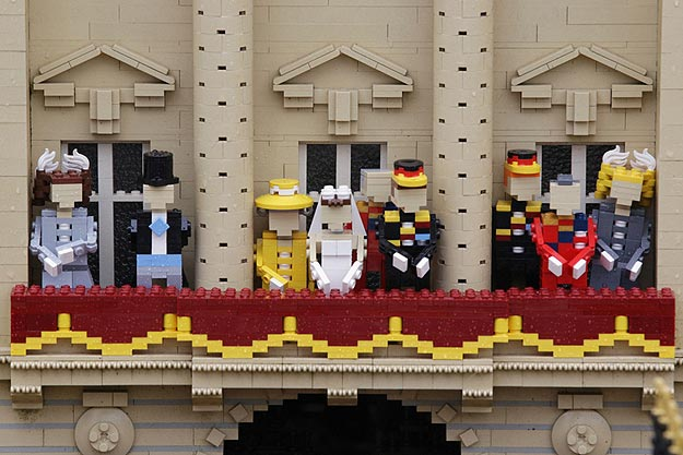 The Royal Wedding Built With 170,000 Legos