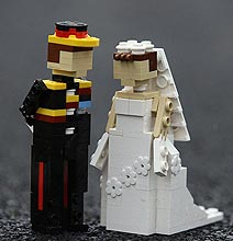 The Royal Wedding Legolized