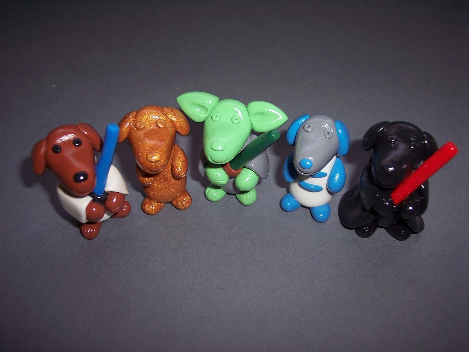 Star Wars Boxer Puppies Characters