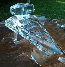 The Star Wars Inspired Star Destroyer Ice Luge