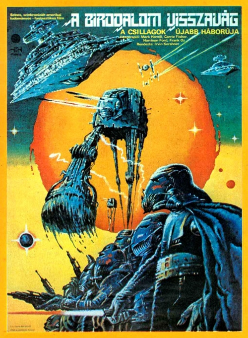 Posters: Apparently Star Wars Was Very Different In Hungary