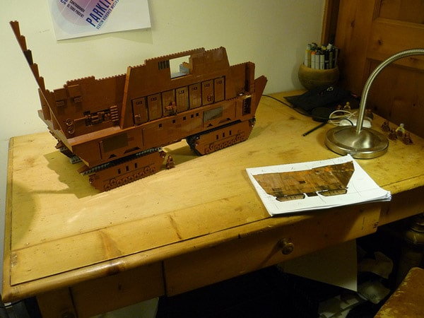 Star Wars Lego Sand Crawler