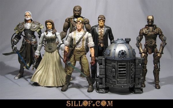 Star Wars Steampunk Figurines: The New Breed