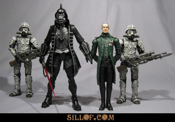 Star Wars Steampunk Figurine Design