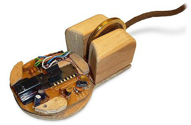 A Hacked Steampunk Computer Mouse