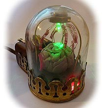 A Fantastically Creepy Steampunk Mouse Design